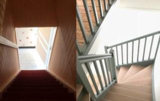 escalier-avant-et-apres-renovation-peinture-et-reparation