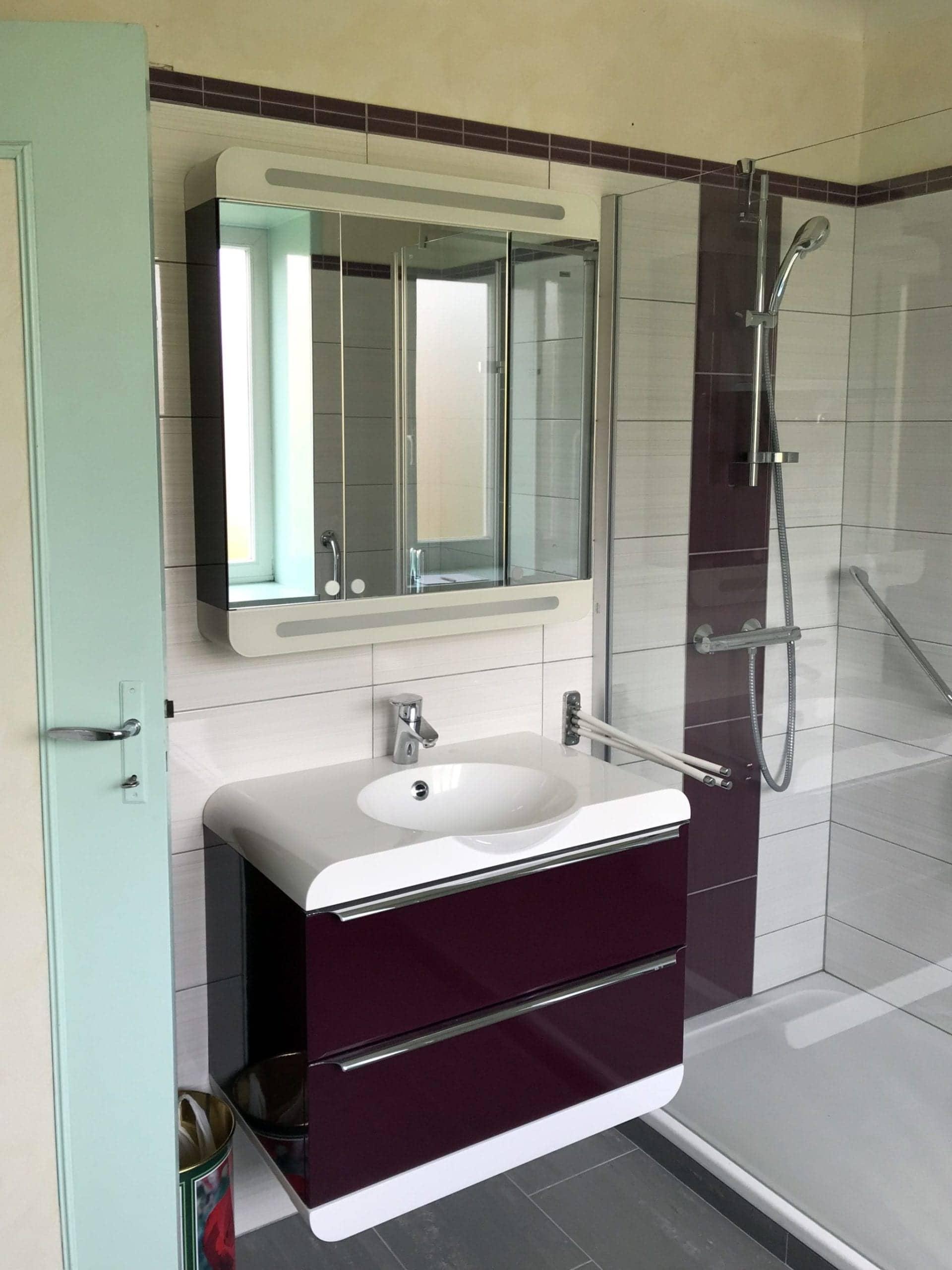 ancienne salle de bain avant rénovation et intervention de reynaud brunet