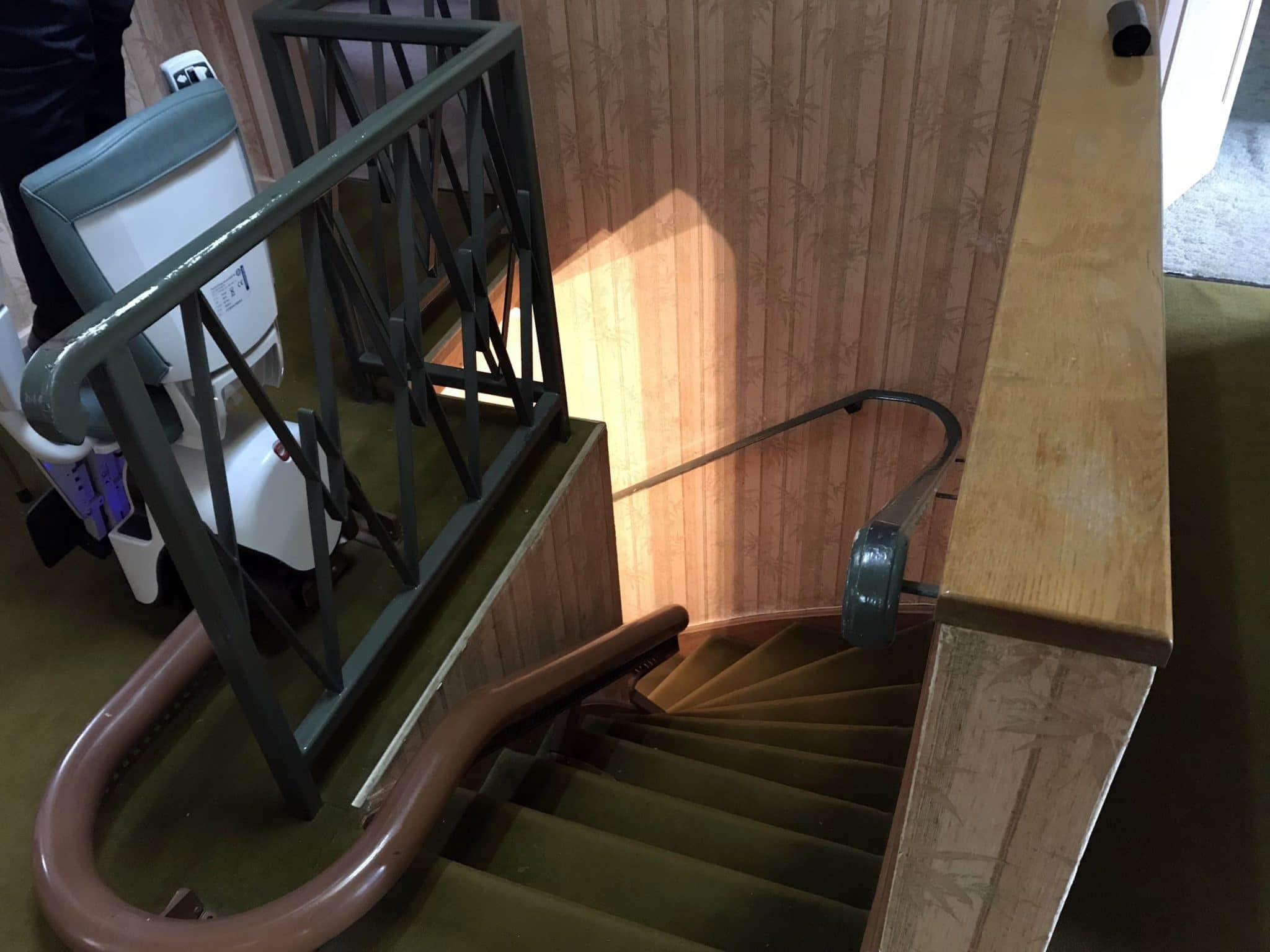 ancienne cage d'escalier