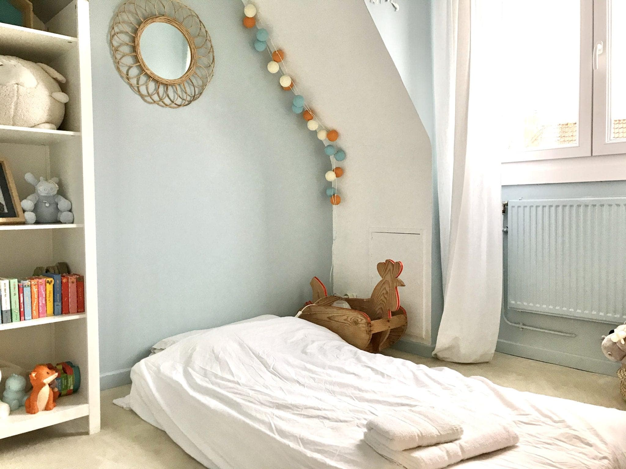chambre enfant avec petites boules la Case de Cousin Paul à Lille