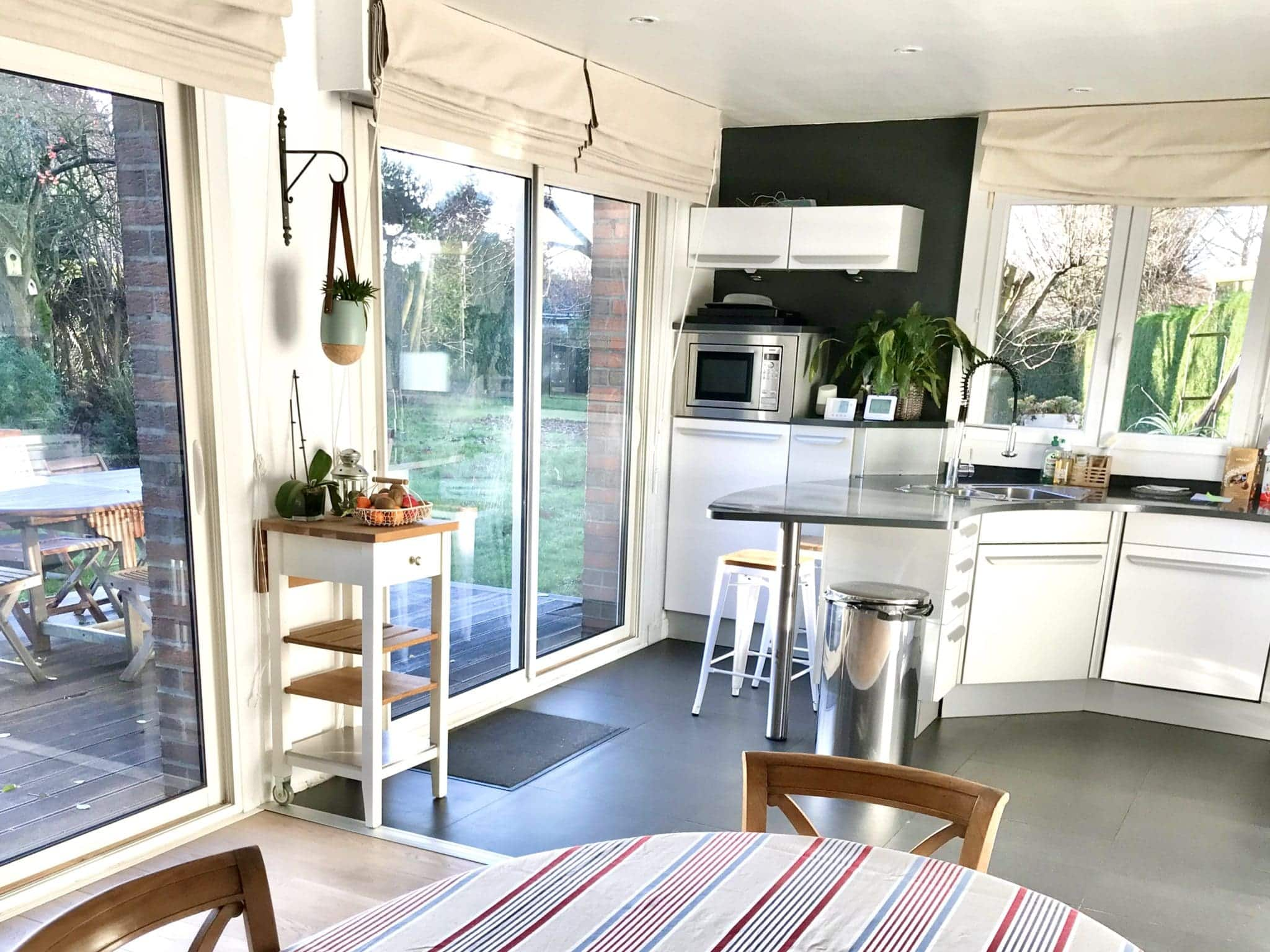 cuisine salle à manger ouverte